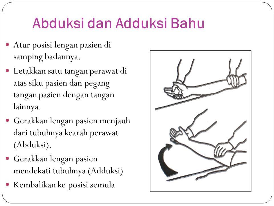 Abduksi dan Adduksi Bahu