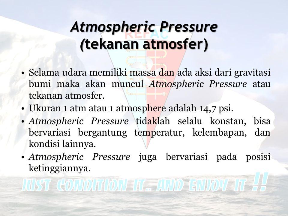 Atmospheric Pressure (tekanan atmosfer)