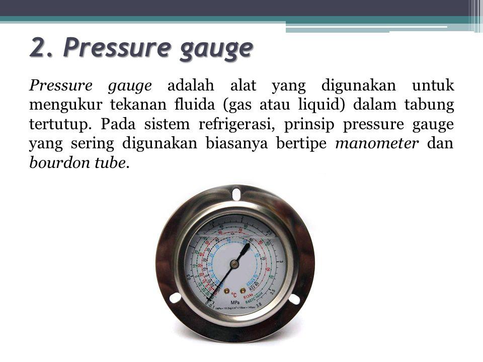 2. Pressure gauge