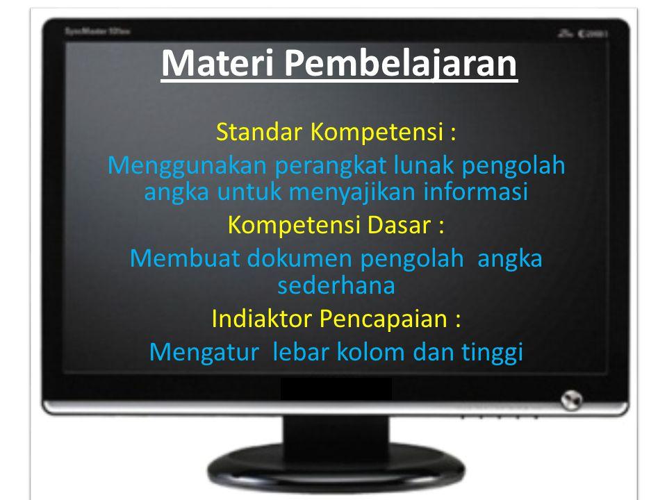 Materi Pembelajaran
