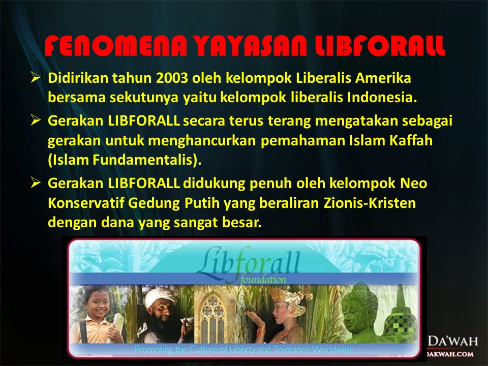 FENOMENA YAYASAN LIBFORALL