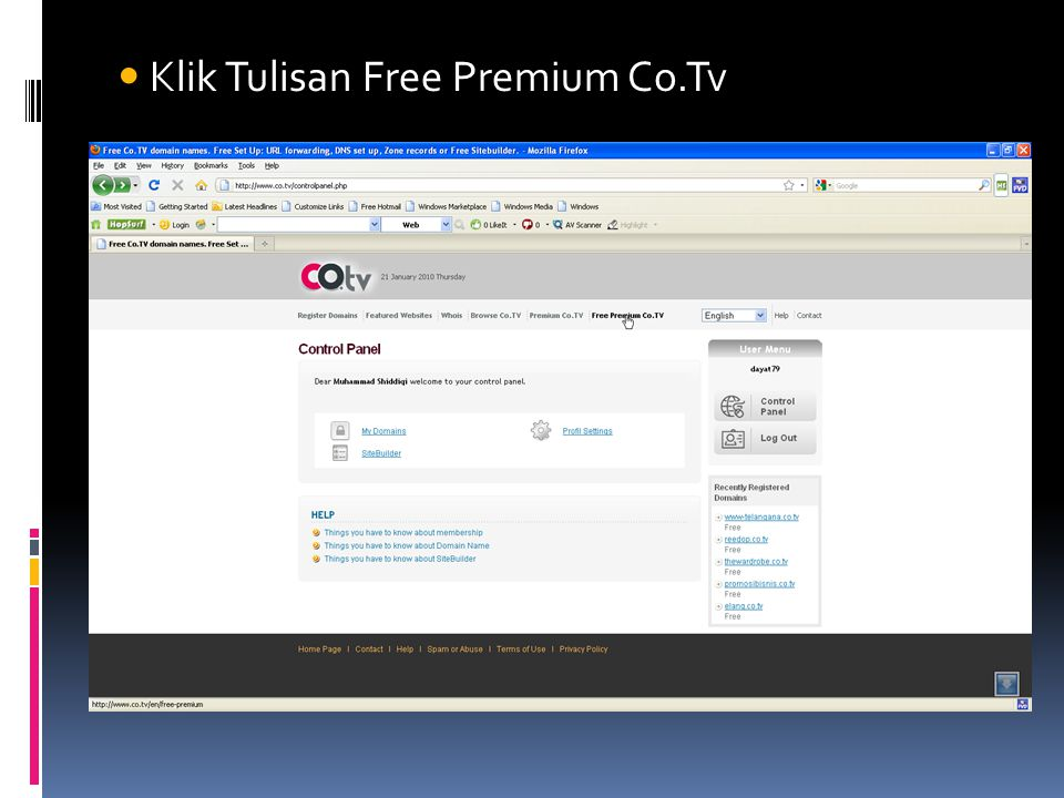 Klik Tulisan Free Premium Co.Tv