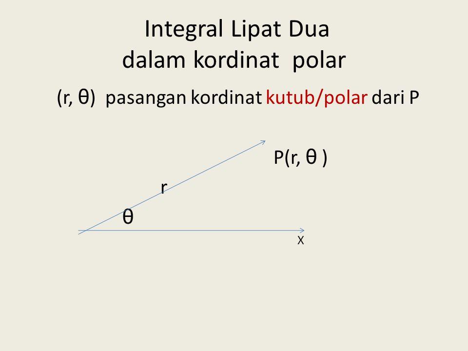 Integral Lipat Dua dalam kordinat polar