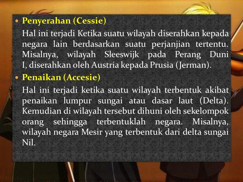 Penyerahan (Cessie)