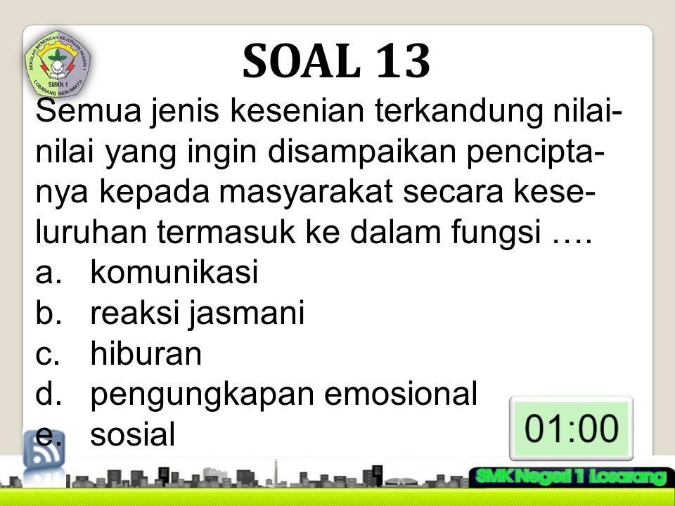SOAL 13