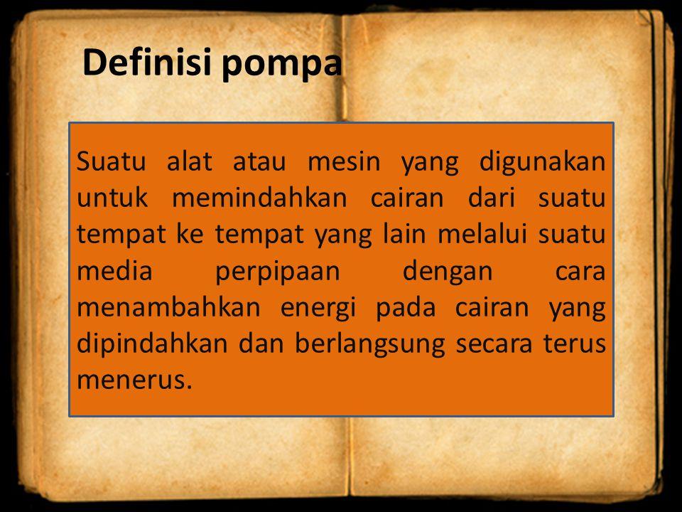 Definisi pompa
