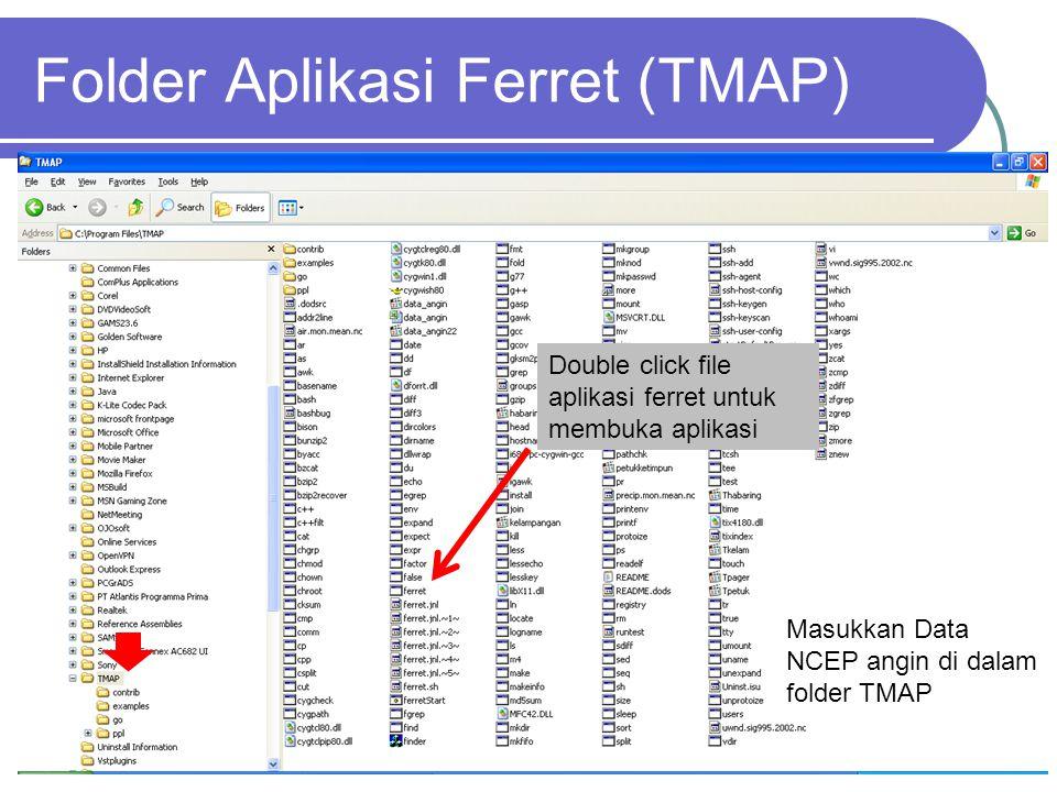 Folder Aplikasi Ferret (TMAP)