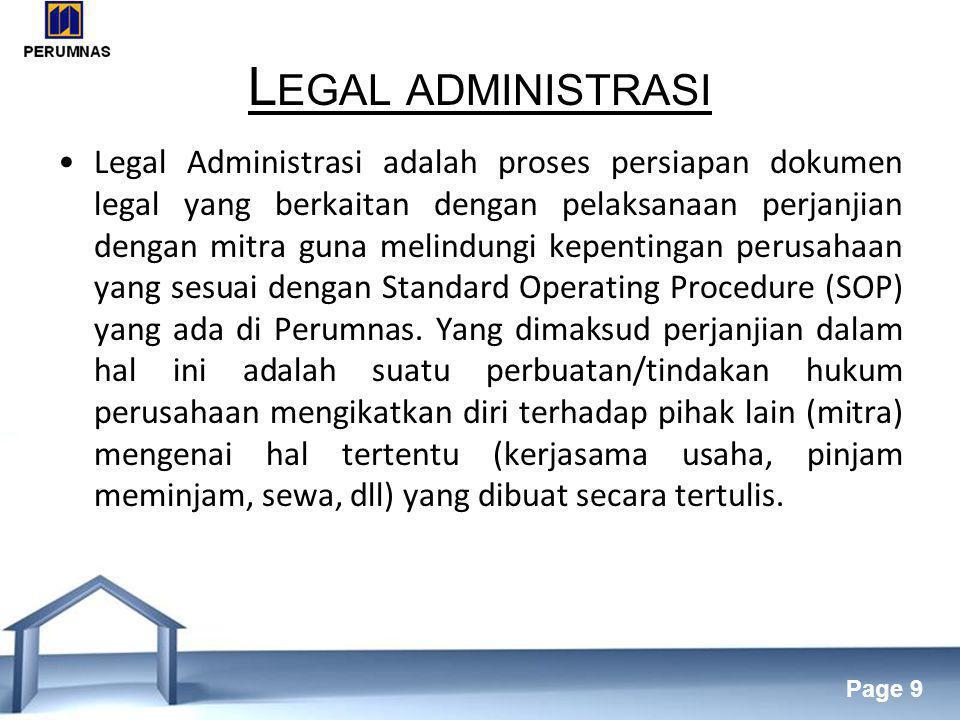 Legal administrasi