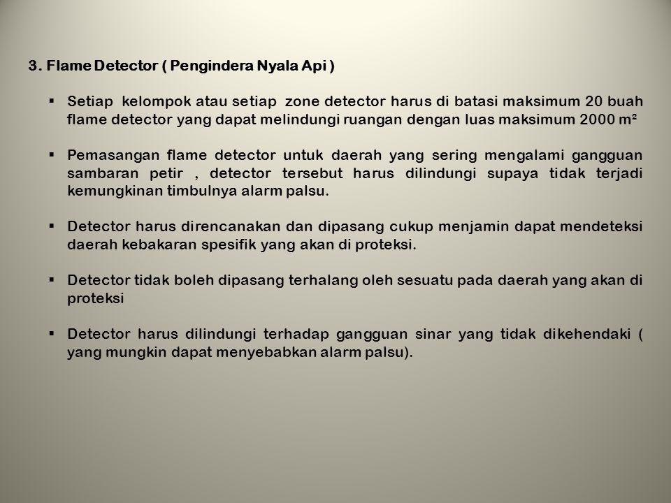 3. Flame Detector ( Pengindera Nyala Api )
