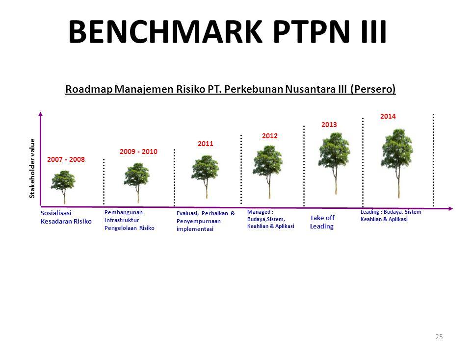 Roadmap Manajemen Risiko PT. Perkebunan Nusantara III (Persero)