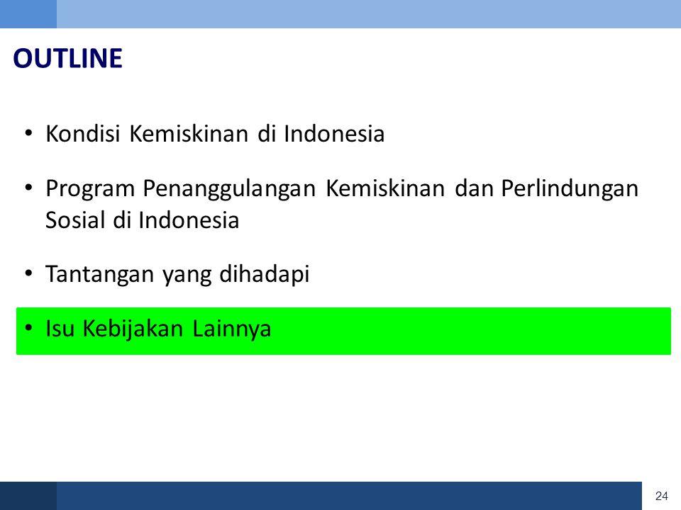 OUTLINE Kondisi Kemiskinan di Indonesia