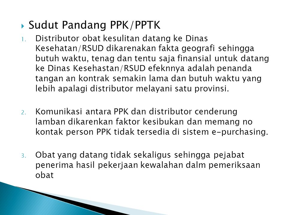 Sudut Pandang PPK/PPTK