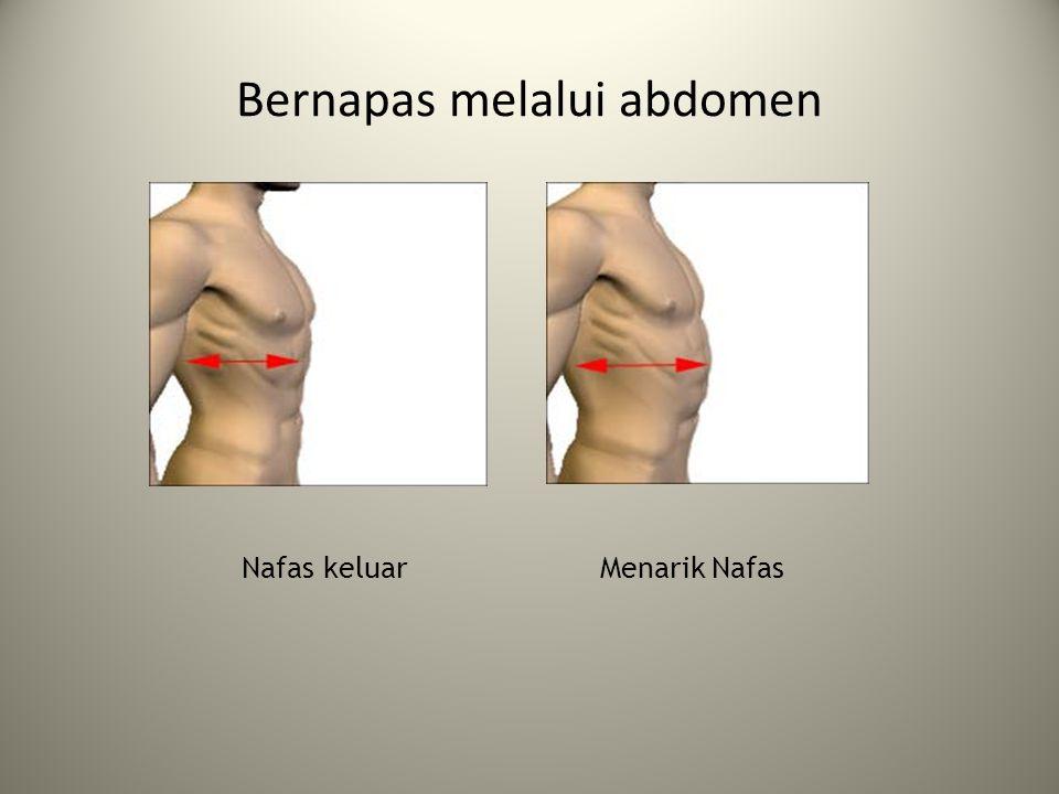 Bernapas melalui abdomen