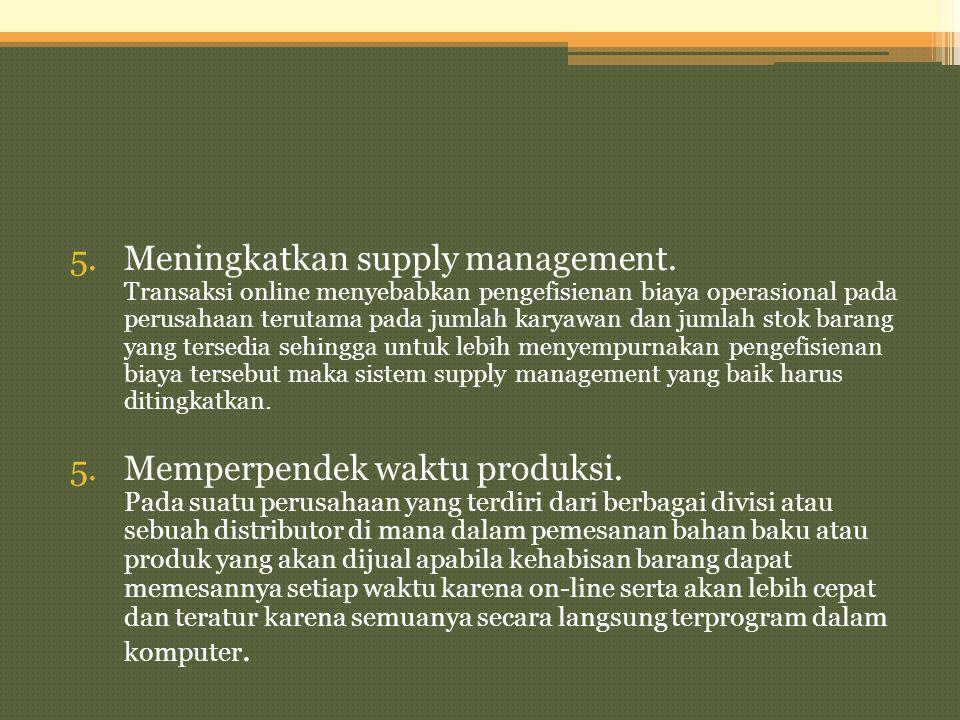 Meningkatkan supply management