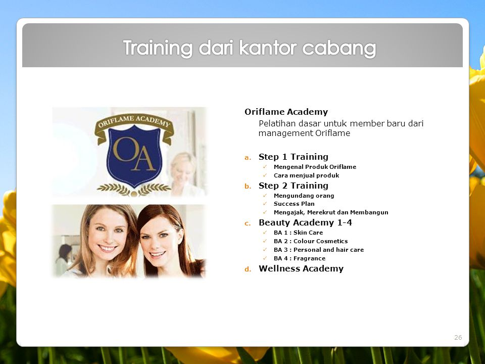 Training dari kantor cabang