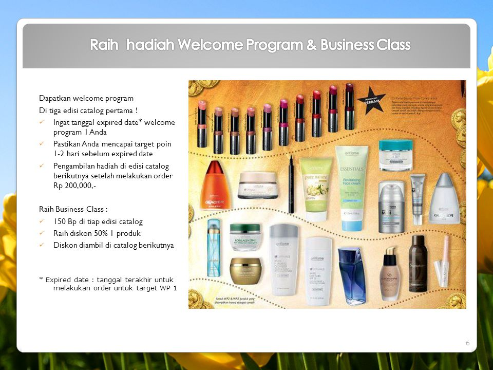 Raih hadiah Welcome Program & Business Class