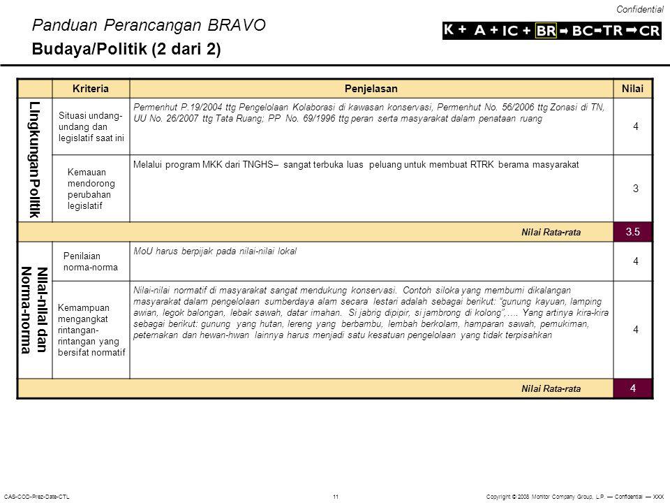 Panduan Perancangan BRAVO Budaya/Politik (2 dari 2)