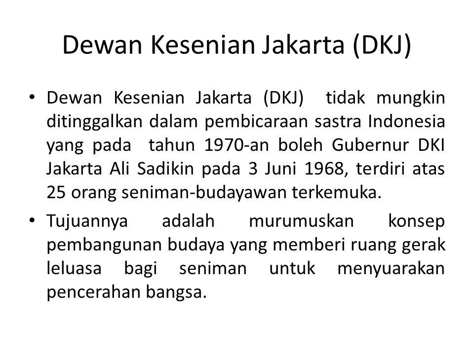 Dewan Kesenian Jakarta (DKJ)