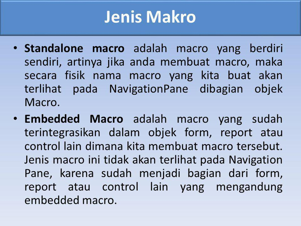 Jenis Makro