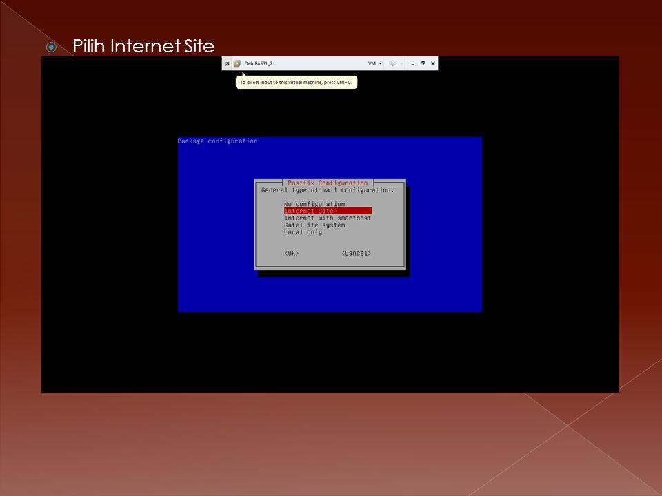 Pilih Internet Site