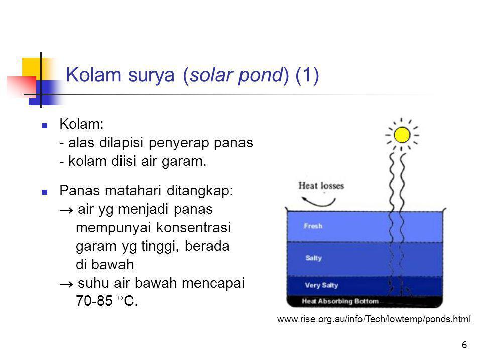 Kolam surya (solar pond) (1)