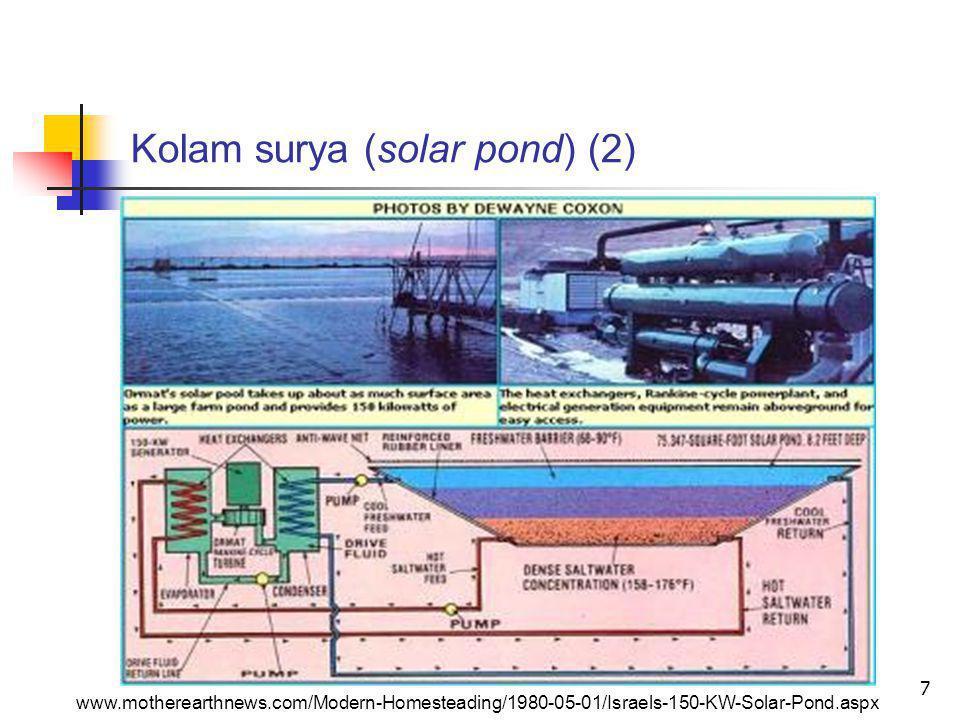 Kolam surya (solar pond) (2)