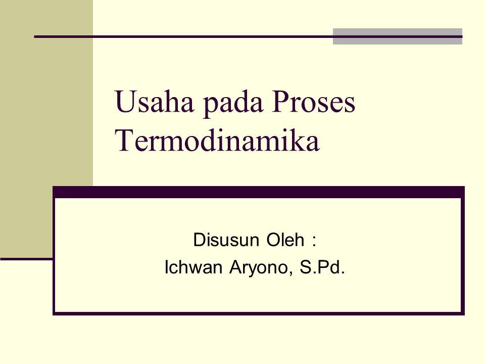 Usaha pada Proses Termodinamika