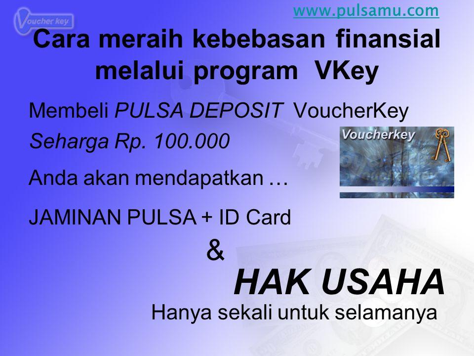 Cara meraih kebebasan finansial melalui program VKey
