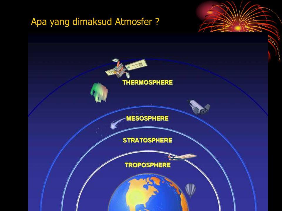 Apa yang dimaksud Atmosfer