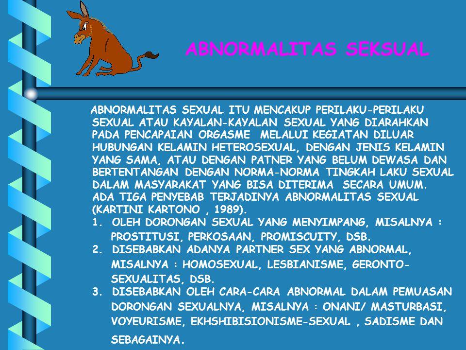 ABNORMALITAS SEKSUAL