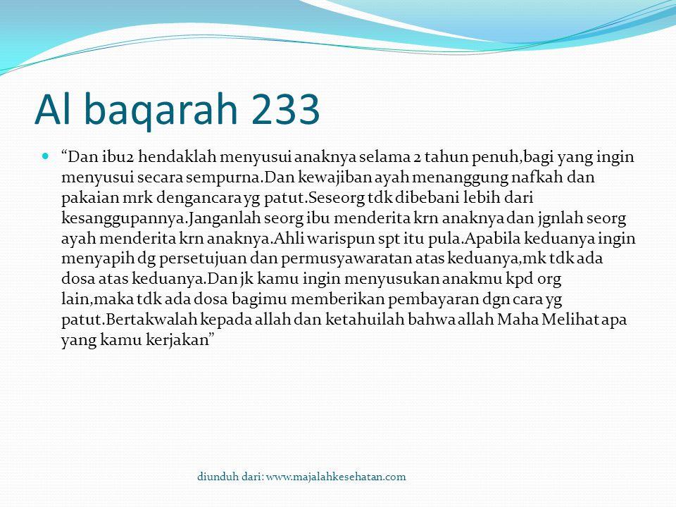 Al baqarah 233