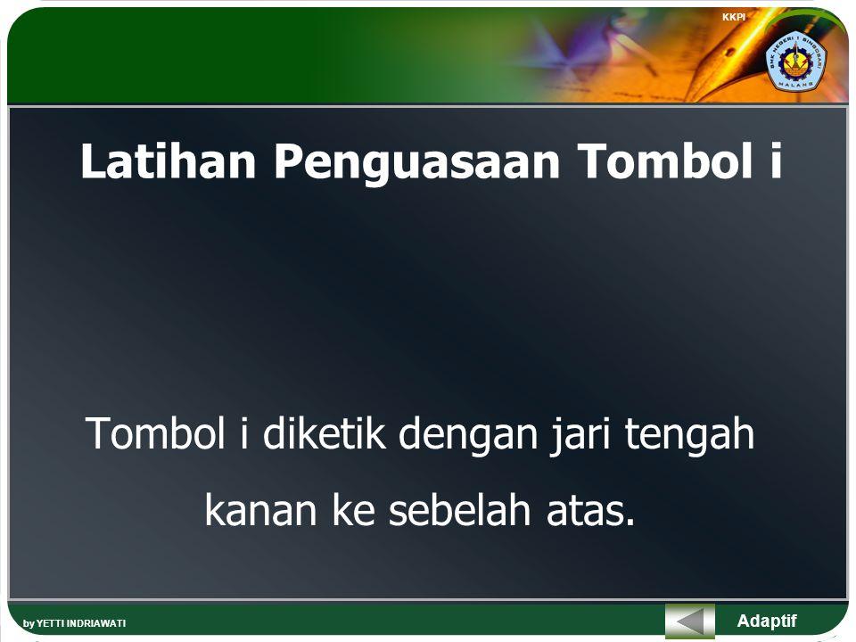 Latihan Penguasaan Tombol i