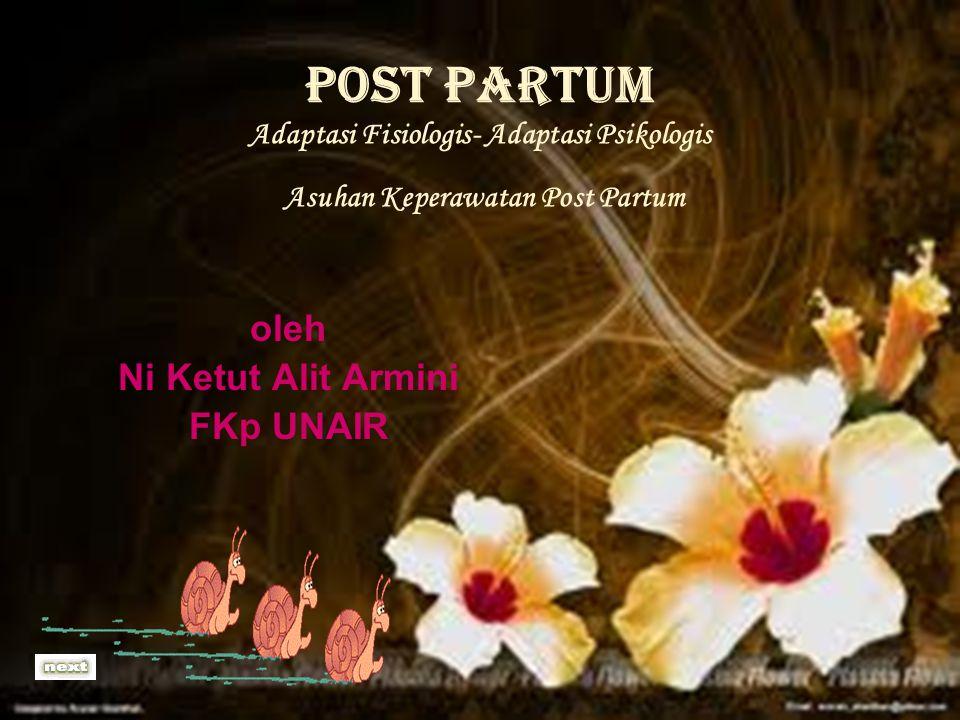 oleh Ni Ketut Alit Armini FKp UNAIR
