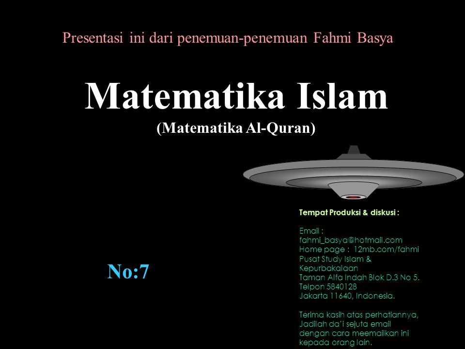 (Matematika Al-Quran)