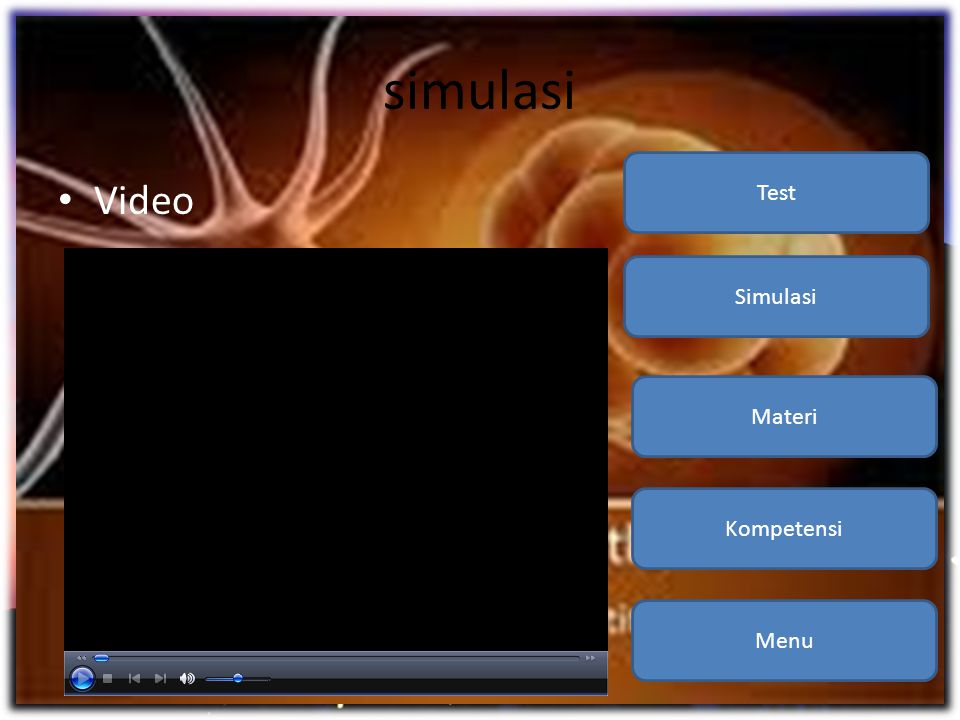 simulasi Kompetensi Materi Simulasi Test Video Menu