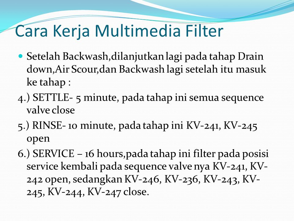 Cara Kerja Multimedia Filter