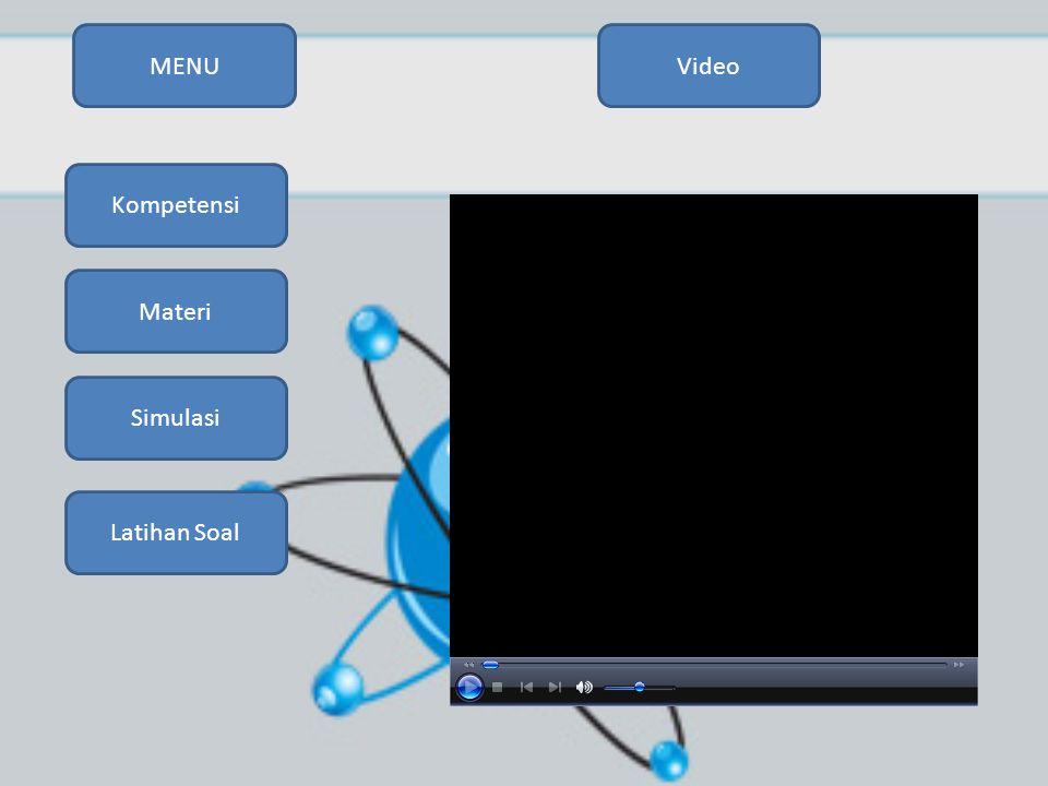 MENU Video Kompetensi Materi Simulasi Latihan Soal