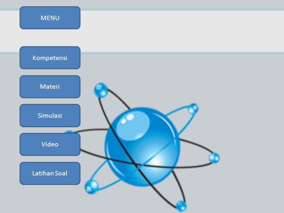MENU Simulasi Video Kompetensi Materi Latihan Soal