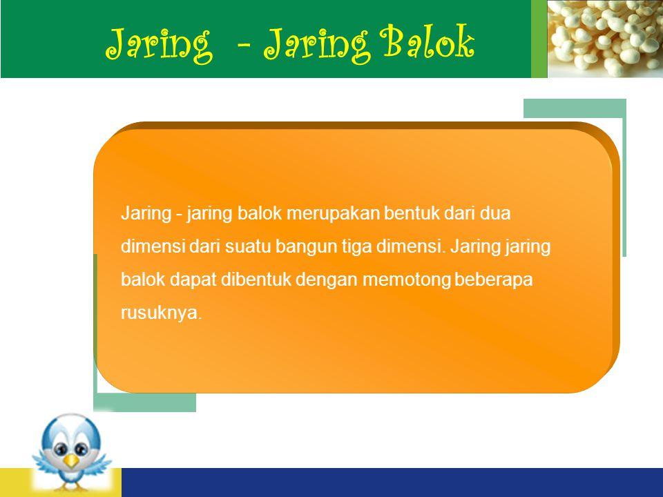 Jaring - Jaring Balok
