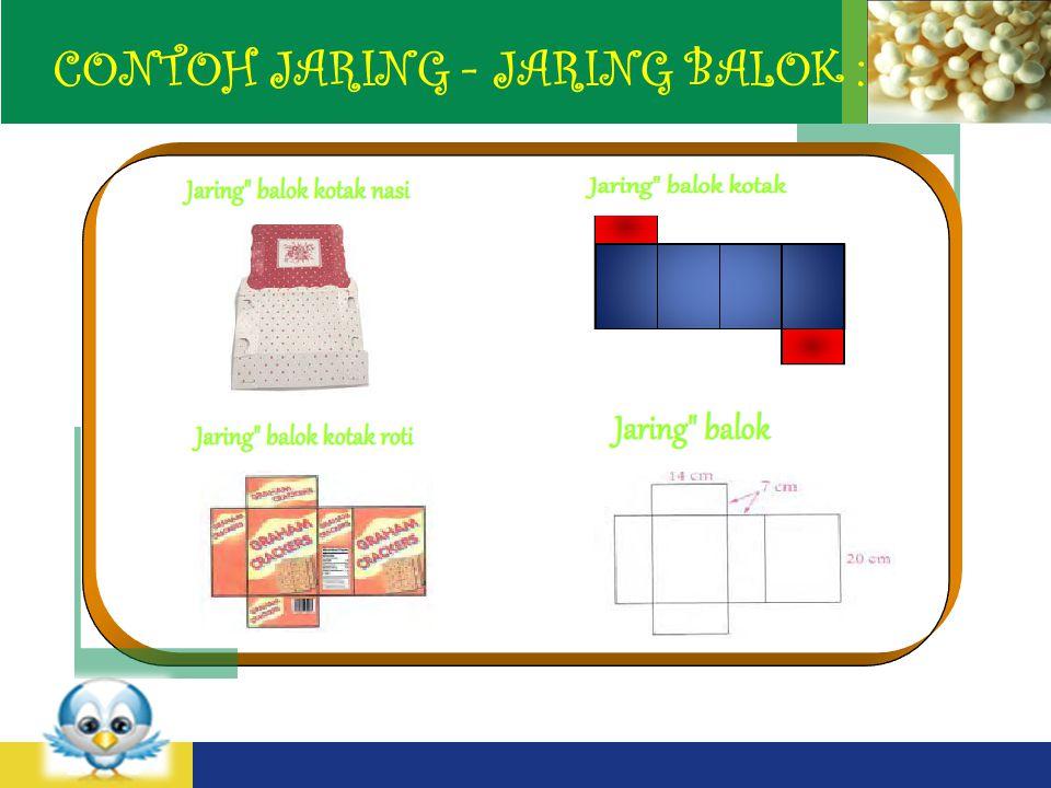 CONTOH JARING - JARING BALOK :