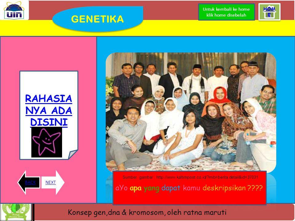 GENETIKA RAHASIANYA ADA DISINI