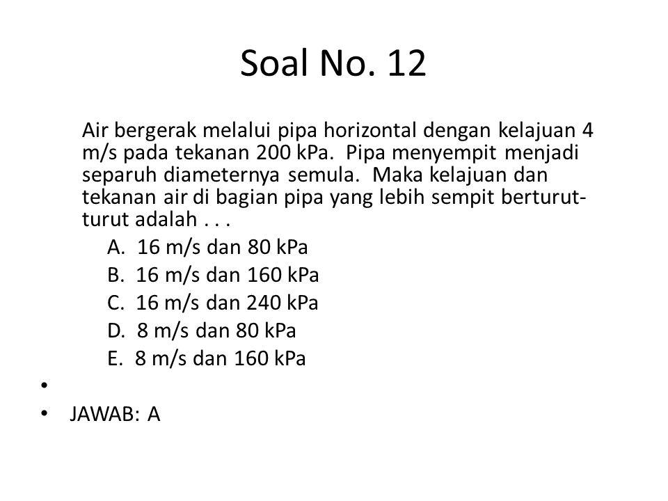 Soal No. 12