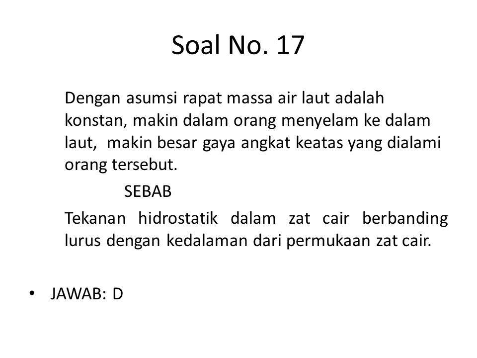 Soal No. 17