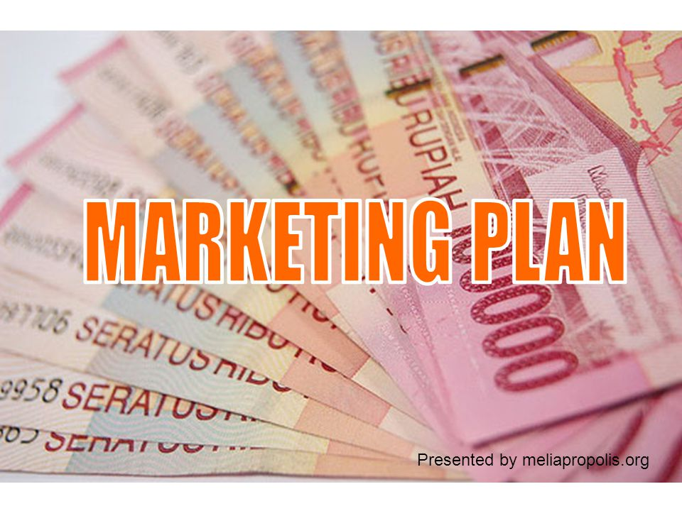MARKETING PLAN Presented by meliapropolis.org