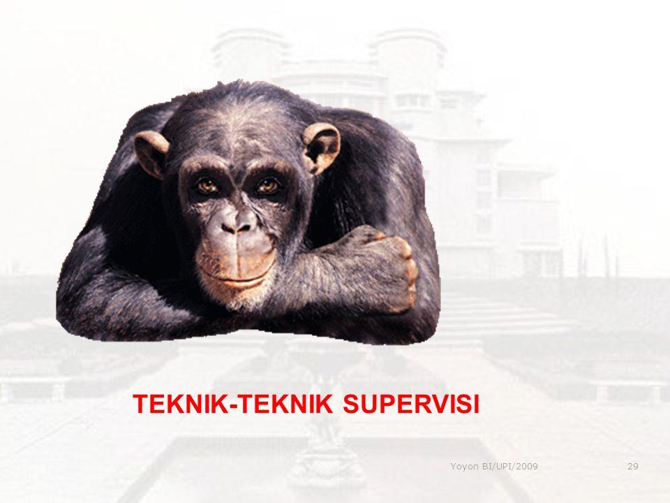 TEKNIK-TEKNIK SUPERVISI