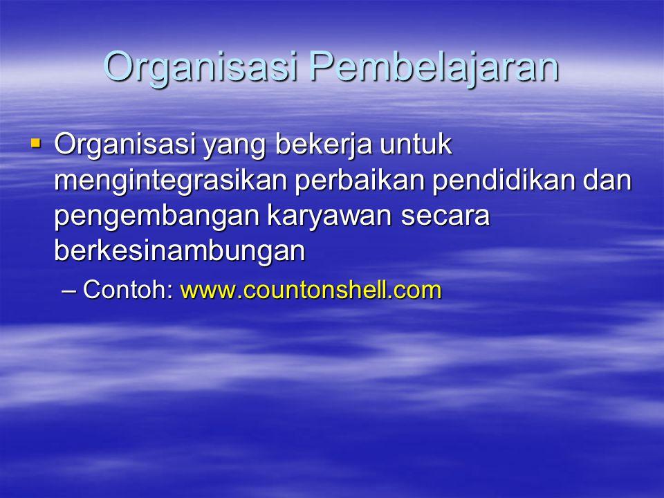 Organisasi Pembelajaran