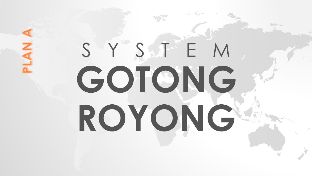 S Y S T E M GOTONG ROYONG PLAN A