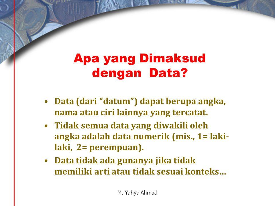 Apa yang Dimaksud dengan Data