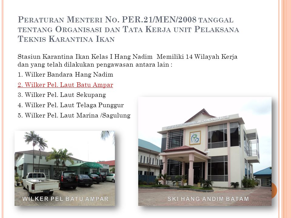 Peraturan Menteri No. PER