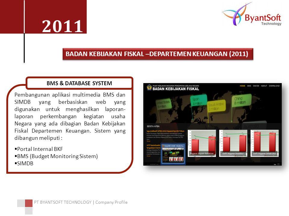 BADAN KEBIJAKAN FISKAL –DEPARTEMEN KEUANGAN (2011)